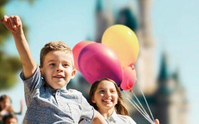 Bezoek Orlando met de kinderen in de zomer