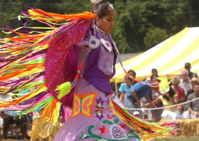 17. events 3Cherokee Powwow Dancer on Stage