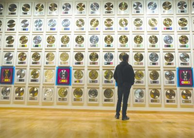 8.CMHOF Record Wall