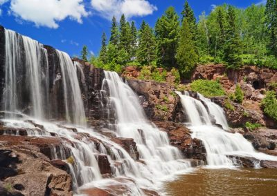 Justin Pruden - Gooseberry Falls State Park waterfall