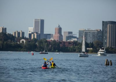 Portland Kayak on Willamette River