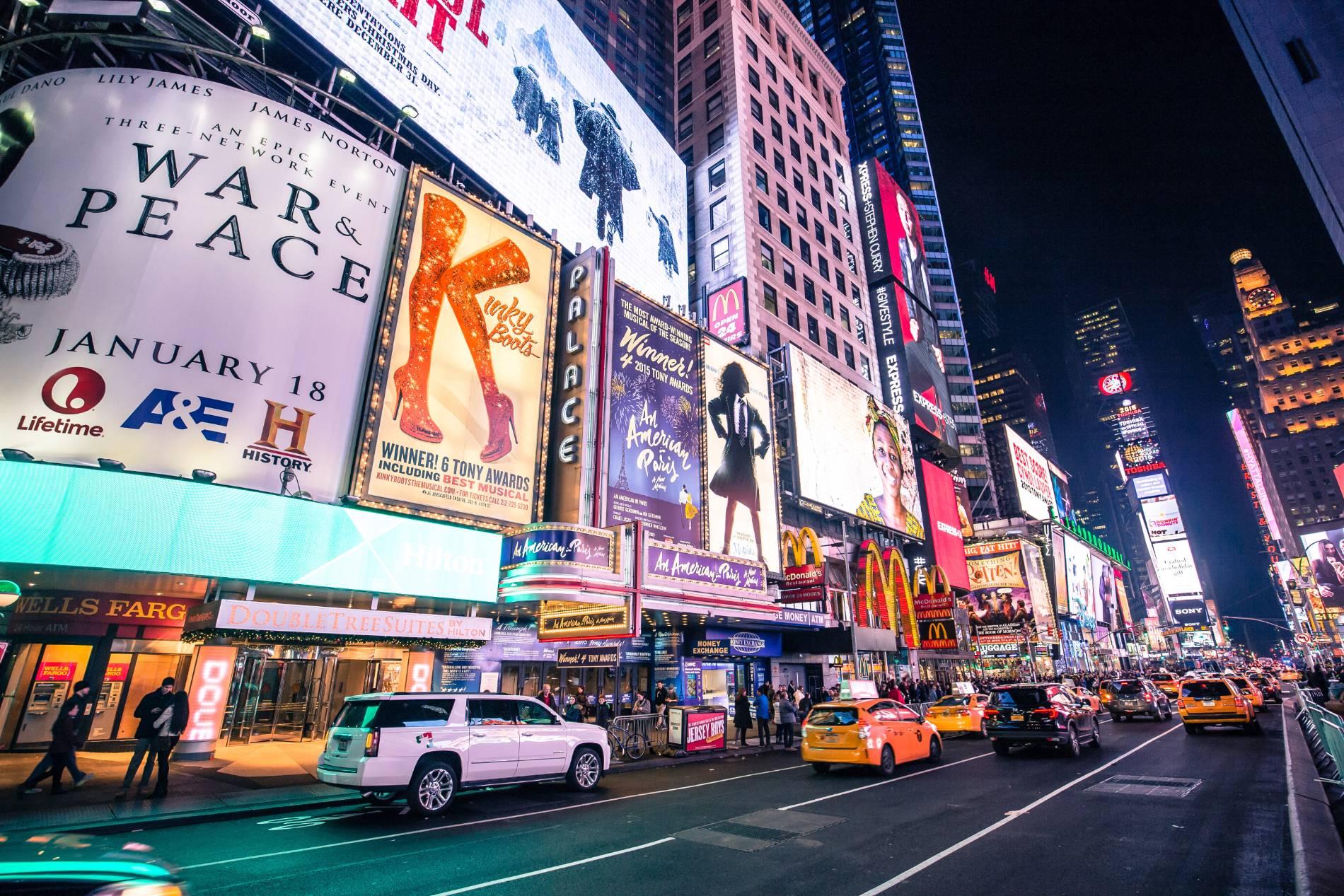 Reisinformatie over Broadway